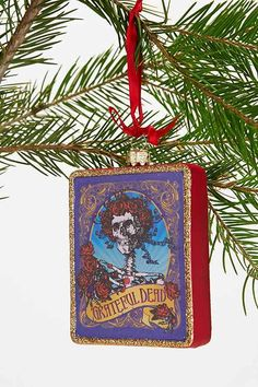 Christmas Style: Grateful Dead Ornament