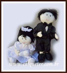 Uma foto de casamento.