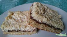 Kókuszos túrós lepény Gluten, Pie, Sugar, Healthy Recipes, Food, Mint, Torte, Cake, Fruit Cakes