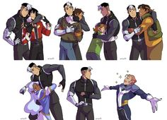space dad hugs by miyumon on DeviantArt | But did Coran get his hug? DID CORAN GET HIS FUCKING HUG?