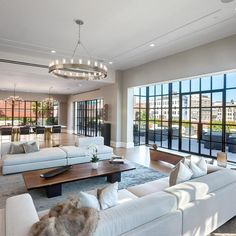Apartment Pricey Luxury Penthouse In New York As Urban Living Condominium City White Open Space Interior Interior Design . New York Penthouse, Luxury Penthouse, New York Apartment Luxury, Penthouse Apartment, Soho Apartment, Manhattan Apartment, Luxury Loft, Apartment Layout, Luxury Condo