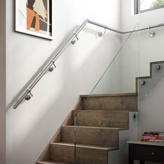 Wall Mounted Metal Handrails