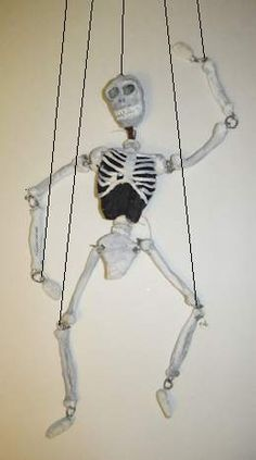 How to Make a Skeleton Marionette