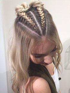 Peinados MELISSA En 2019 Trenzas Cabello Suelto Pelo Trenzado Y - hairstyles trenzas suelto hairstyles trenzas semirecogido French Braid Hairstyles, Box Braids Hairstyles, Pretty Hairstyles, Hairstyle Ideas, Two Buns Hairstyle, Ethnic Hairstyles, Simple Hairstyles, Hairstyles 2018, Bridal Hairstyles