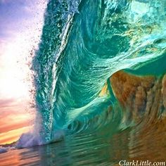 Morning Wave of Hawaii June 2013 Image Credit : Clark Little Photography. His photos are amazingly breathtaking :-) Mais Water Waves, Sea Waves, Sea And Ocean, Ocean Beach, Beach Bum, Epic Photos, Cool Photos, Clark Little Photography, Shore Break