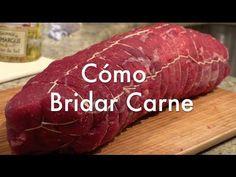 Cómo bridar o atar una carne paso a paso