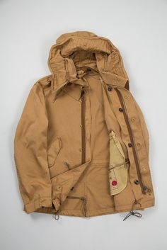 Ten C Sughero Short Parka