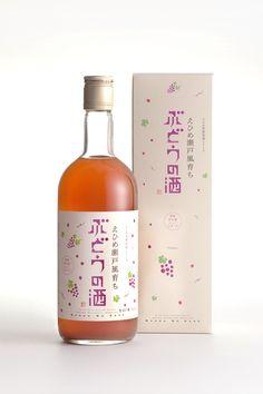 Pretty sake bottle and box PD