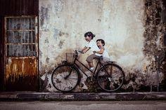 art street at penang - Google Search