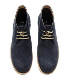 324719609537 Desert boots with imitation suede.  HMCLASSIC Herenlaarzen