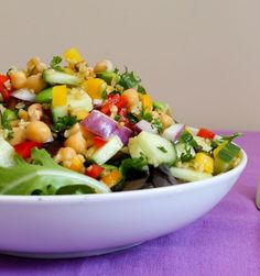 Vegan-Friendly Freekeh Salad with Edamame and Chickpeas
