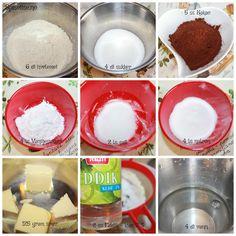 Nydelig, saftig enkel å lage sjokoladekake – Spiselise Marshmallow Fondant, Food And Drink, Sugar, Cookies, Baking, Craft, Baking Soda, Crack Crackers, Biscuits