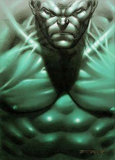 Hulk by Fabrizio Fiorentino