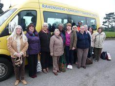 RAVENSHEAD COMMUNITY TRANSPORT: REGUALR TRIP TO #EDEN HALL SPA...