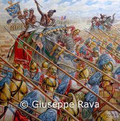 Battle of Hydaspes by Giuseppe Rava.