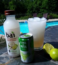 Coconut Lime Summertime Skinny Drink - Lime-A-Rita & bai Andes Coconut Lime water. Coconut Lime Summertime Skinny Drink - Lime-A-Rita & bai Andes Coconut Lime water. Party Drinks, Cocktail Drinks, Fun Drinks, Beverages, Liquor Drinks, Low Calorie Alcoholic Drinks, Lime Drinks, Alcholic Drinks, Cocktail Ideas
