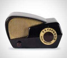 I love the shape of this radio!