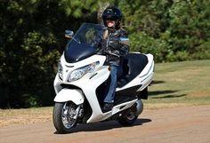 10 Best Motorcycles for Women - Suzuki Burgman 400 - Page 4 - Features - Visordown