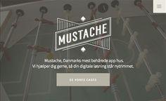 #Featured of the Day 28 Jul 2015 Mustache http://www.csslight.com/website/12348/Mustache