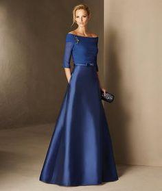 Barbados - Mikado, bürümcük ve değerli taş detaylı, kloş etekli nedime elbisesi