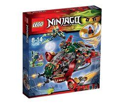 Le Jet hybride de Ronin de Lego Ninjago Réf : 70735 moins cher en ligne. Age : 8 ans  Comparez son prix chez 5 vendeurs en ligne .