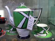 Czech Art Deco coffee set. I volunteer to give this a home!