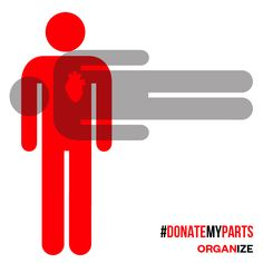 Register to be an organ donor. Declare it with the hashtag #DonateMyParts. Save or help up to 50 lives. It's that easy.