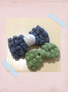 ソーイング:ぽこぽこなりぼんの編み図