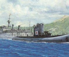 submarine world war ii HD Wallpaper