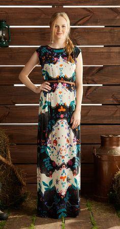 Só na Antix Store você encontra Vestido Longo Jardim com exclusividade na internet