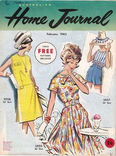 3 Unused 60s Vintage Patterns