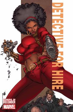 black superheroes | Misty Knight and Falcon: Heroes for Hire! | WorldofBlackHeroes