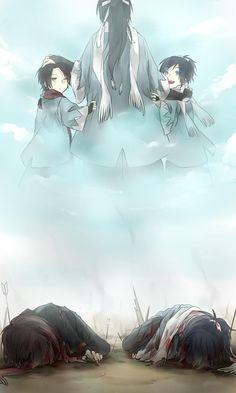 Yamato no Kami Yasusada x Kashuu [Touken Ranbu] Manga Anime, Anime Guys, Touken Ranbu, Blue Exorcist, Fan Art, Noragami, Anime Characters, Haikyuu, Pokemon