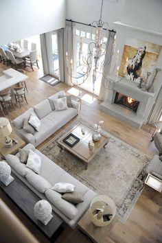 New Living Room Sofa Arrangement Layout Coffee Tables Ideas Transitional Living Rooms, Livingroom Layout, Trendy Living Rooms, Room Remodeling, House Interior, Big Living Rooms, Open Living Room, Room Layout, Furniture Layout