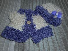 Baby Sweater Set, Baby Sweater, Baby Cardigan, Baby Hat, Handmade, Shower Gift, by bonitastewart on Etsy