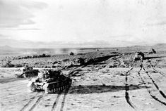 The Nazi propaganda picture shows tanks of the German Wehrmacht in the desert in Tunisia. The photo was taken in February Photo: Berliner Verlag / Archive Get premium, high resolution news photos at Getty Images Stock Pictures, Stock Photos, German News, North African Campaign, Nazi Propaganda, Afrika Korps, Still Image, Royalty Free Photos, Picture Show