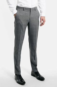 For mens fashion check out the latest ranges at Topman online and buy today. Topman - The only destination for the best in mens fashion Formal Trousers For Men, Men Trousers, Mens Dress Pants, Business Casual Dresscode, Slim Fit Suits, Checked Suit, Mens Fashion Wear, African Men Fashion, Mens Suits