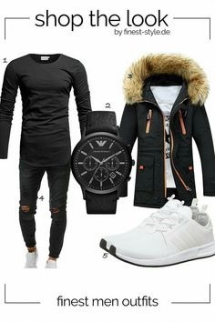 Winter Swag Outfits, Suit Fashion, Mens Fashion, Teen Boy Fashion, Best Dressed Man, Herren Outfit, Designer Clothes For Men, Men Style Tips, Emporio Armani