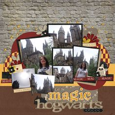 Wizarding World of Harry Potter - Page 11 - MouseScrappers.com