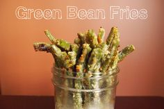 Green Bean Fries #vegan #recipe #snacks #fried #yummy