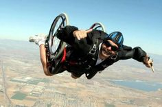 Wheelchair Skydive!
