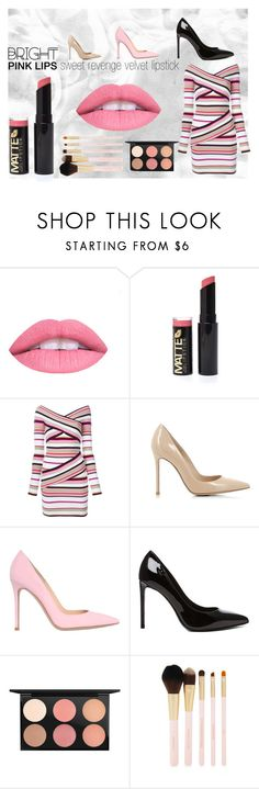 """""""velvet"""" by ordalie ❤ liked on Polyvore featuring beauty, MSGM, Gianvito Rossi, Yves Saint Laurent, MAC Cosmetics and Forever 21"""