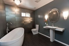 View our gallery of featured modern bathroom designs. One Week Bath, designing beautiful custom bathrooms in Southern California since 1999.
