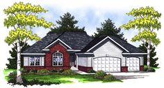 European   House Plan 73007  1934 sq ft   da.