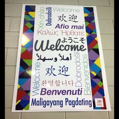 Welcome sign to Melbourne International Convention Keep Seeking First God's Kingdom, of Jehovah's Witnesses Australia. jw.org
