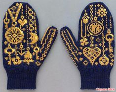Don't know where these gorgeous mittens are from but they are stunning! Don't know where these gorgeous mittens are from but they are stunning! Knitted Mittens Pattern, Knit Mittens, Knitted Gloves, Knitting Socks, Baby Knitting, Knitting Charts, Knitting Patterns, Fair Isle Knitting, Knitting Accessories
