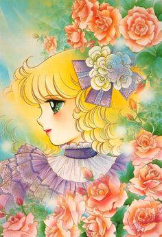Candy Candy Art by manga artist Yumiko Igarashi. Old Anime, Manga Anime, Anime Art, Manga Illustration, Illustrations, Candy Y Terry, Candy Images, Sailor Moon Character, Candy Art