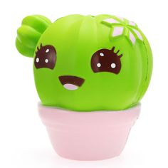 Xinda Squishy Cactus Plant Soft Slow Rising With Packaging Collection Gift Decor Toy Cute Squishies, Slime And Squishy, Cactus Planta, Goods And Service Tax, Cold Porcelain, Papua New Guinea, Republic Of The Congo, St Kitts And Nevis, Cool Toys