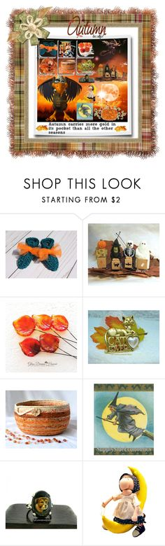 Autumn The Season Of Gold by sylvia-cameojewels on Polyvore featuring vintage