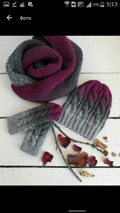 Mütze – Awesome Knitting Ideas and Newest Knitting Models Loom Knitting, Baby Knitting, Crochet Yarn, Crochet Stitches, Knitting Projects, Crochet Projects, Knitting Patterns, Crochet Patterns, Knitting Accessories